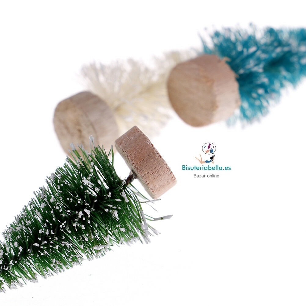 Set 2 Mini Arbolitos con Nieve a elegir