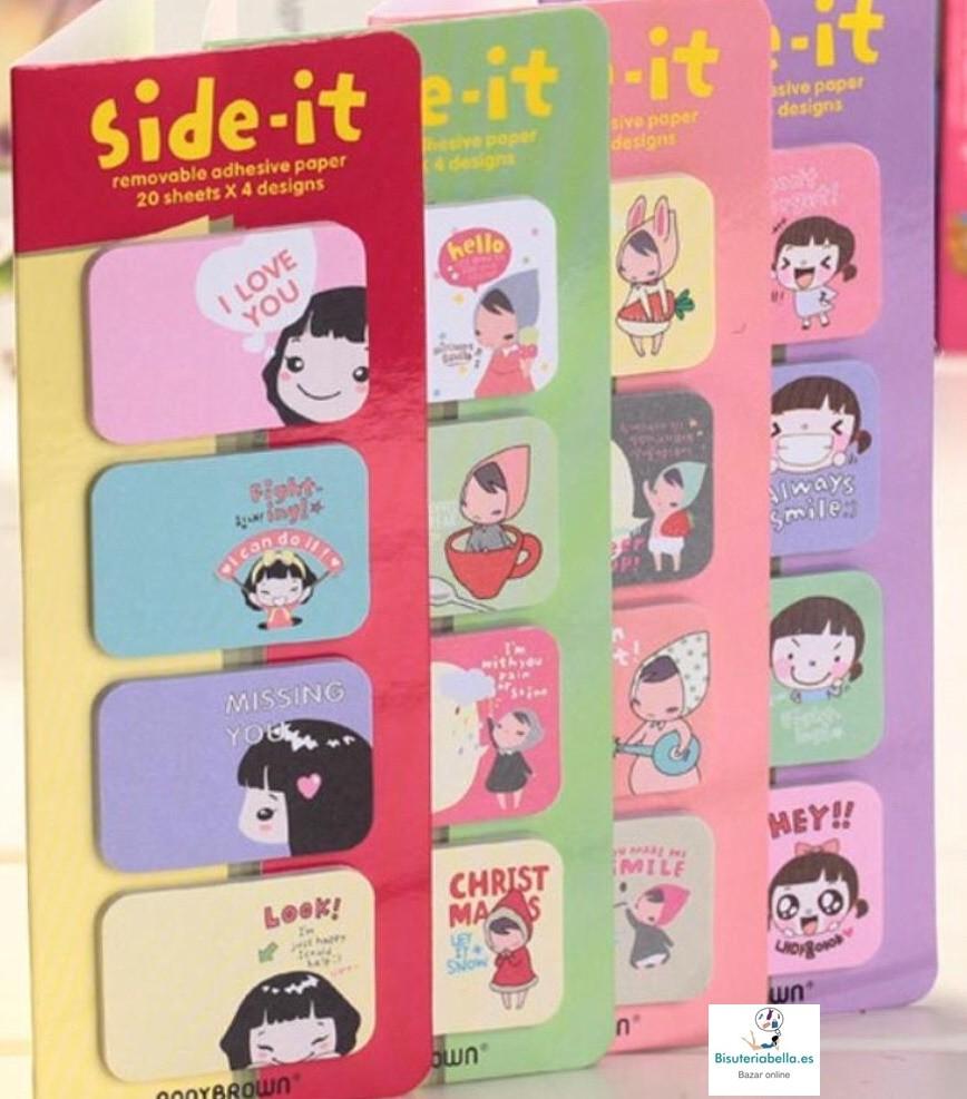 Side-it tipo Post-it niña Ponybrown a elegir 4 modelos