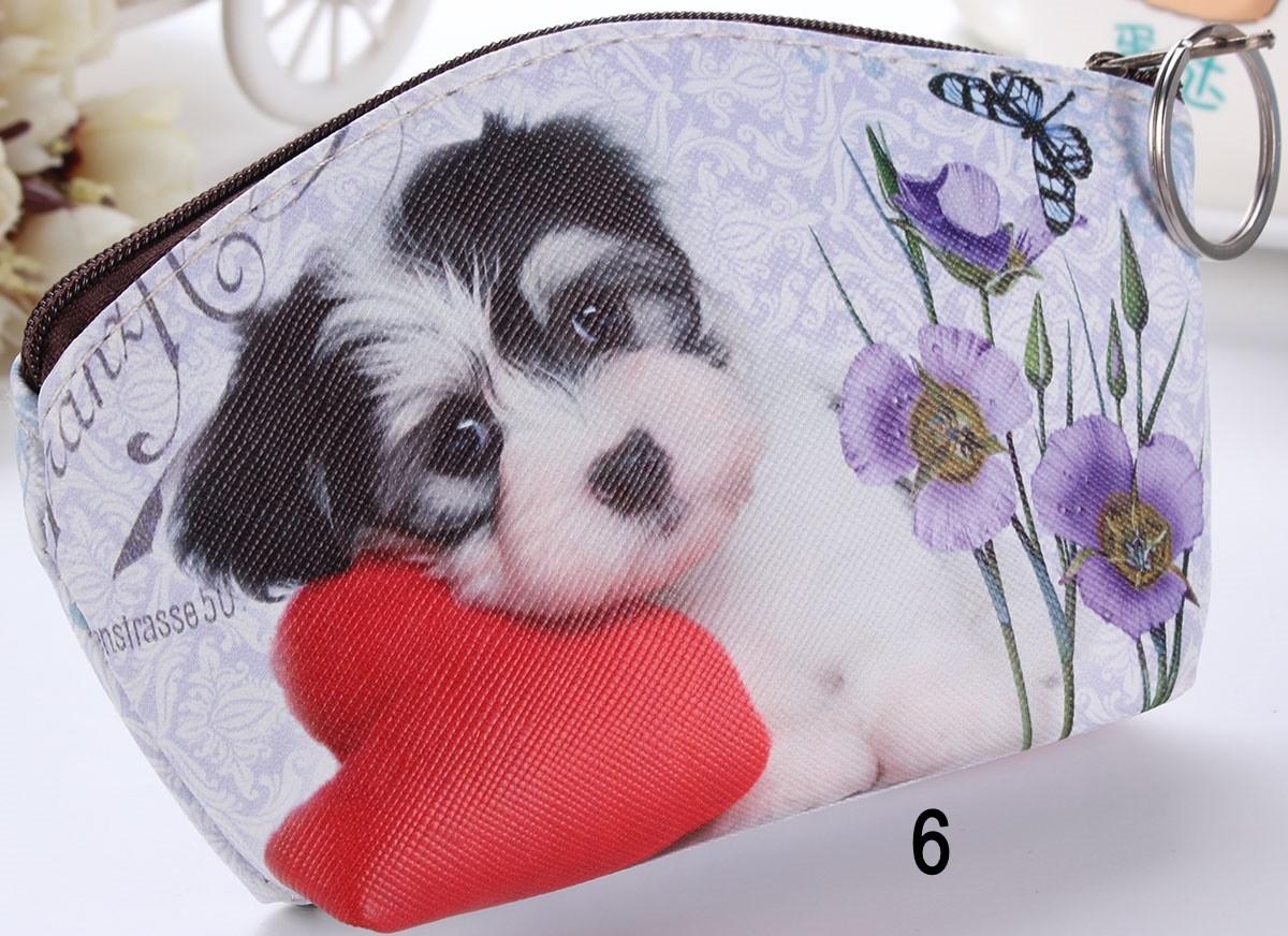 Monederos-Llavero Gatitos o perros ovalados cute ^^