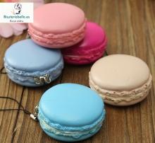 Llaveros macarons diferentes tonos a elegir