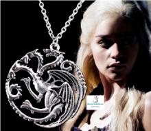 Replica Colgante casa Targaryen,Juego de Tronos