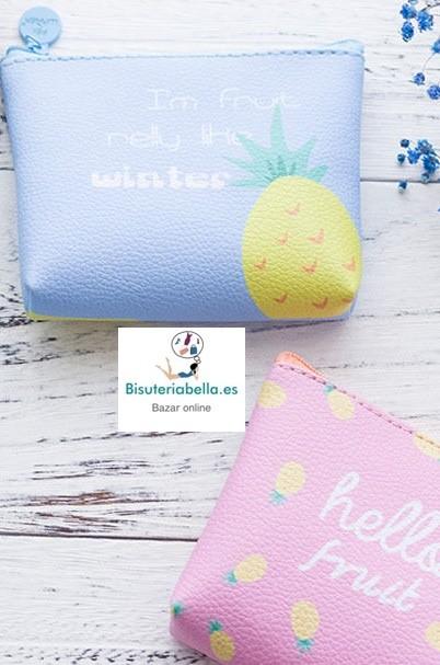 Monederos medianos Cute Kawaii Colors a elegir