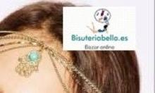 Diadema dorada ajustable cadenas entralazadas Mano Fatima