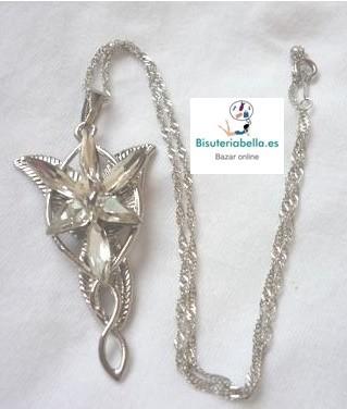 Replica de Colgante,Arwen Estrella ''El Señor de los Anillos''