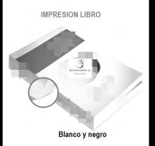 Imprimir Libro Blanco y Negro