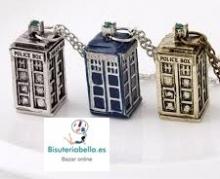 Colgante Edicion Limitada Replica Tardis Doctor Who