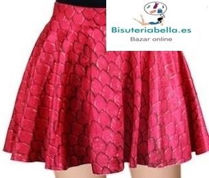 Falda roja escamas Dragón (Juego de tronos)