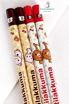 Set 8 lapices  Rilakkumma a elegir color de caja