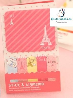 Stick & Bigmemo Torre Eiffel Rosa