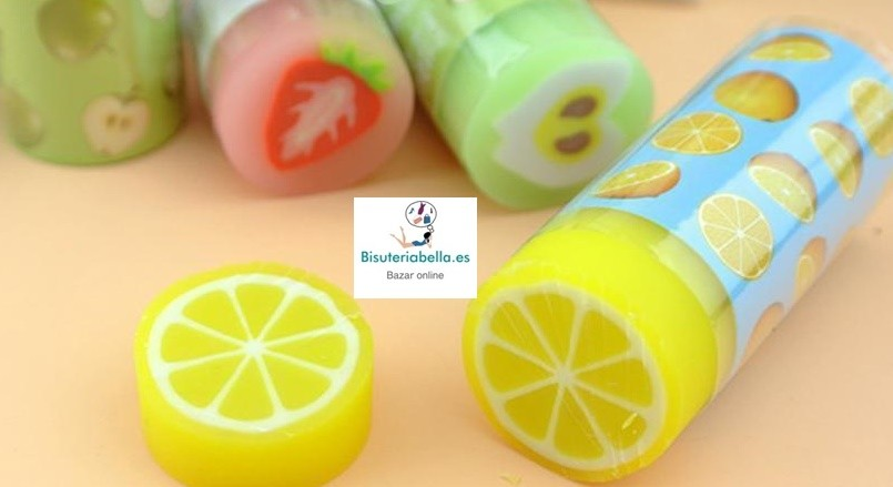 Goma  Borrar Frutas Cute a elegir