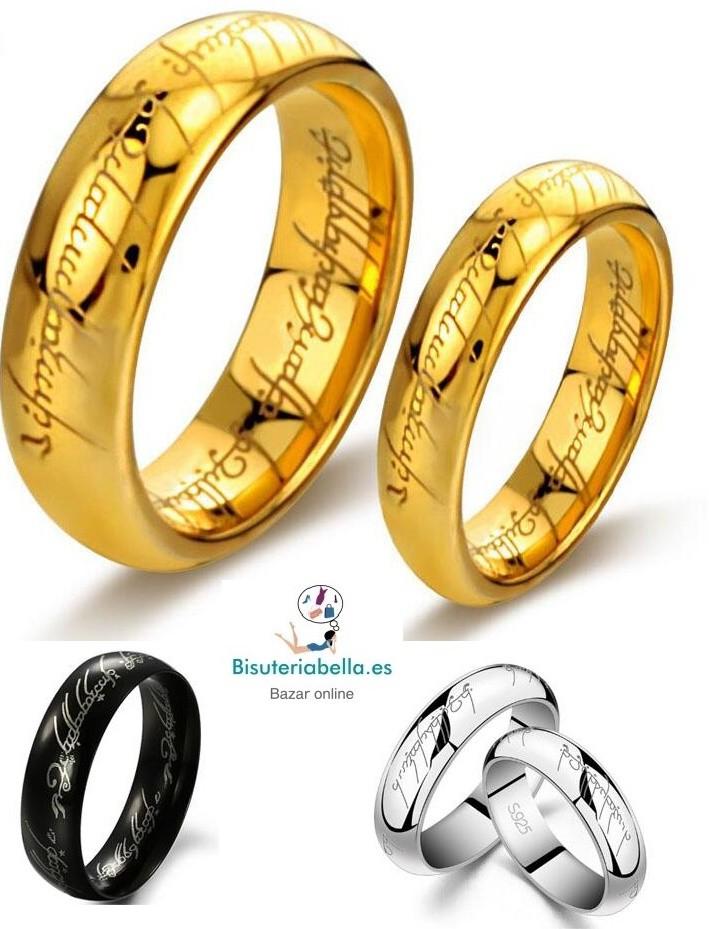 Réplica anillo el señor de los anillos edicion limitada