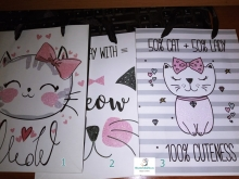 Bolsas Regalo Medianas Gatitos Kawaii Papel