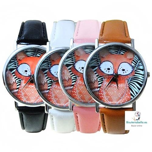 Reloj pulsera a elegir tono Zorro