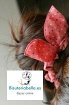 Coletero ajustable,orejas con lunares a elegir color