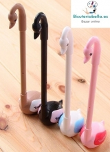 Boligrafos largos en forma de Cisnes colores a elegir