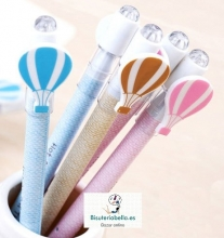 Bolígrafo globo aerostático varios tonos a elegir