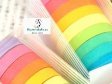 Set 10 Masking Tape Colores (parecido a washi tape)