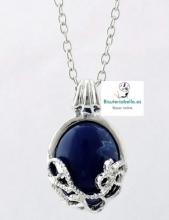 Colgante Cronicas Vampiricas Katherine plateado y azul