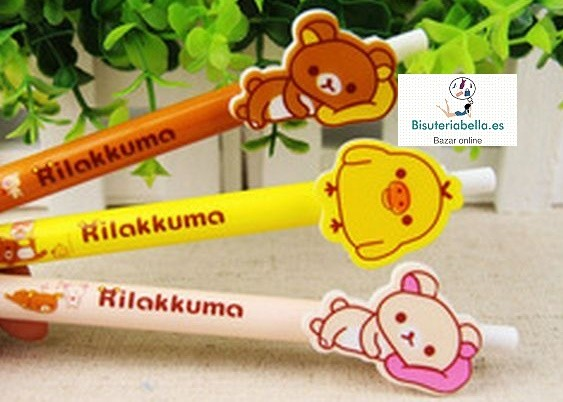 Boligrafo Rilakumma 3 diferentes a elegir
