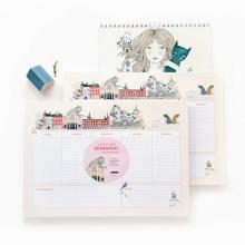 Planificador semanal «I Love Madrid» by Lady Desidia