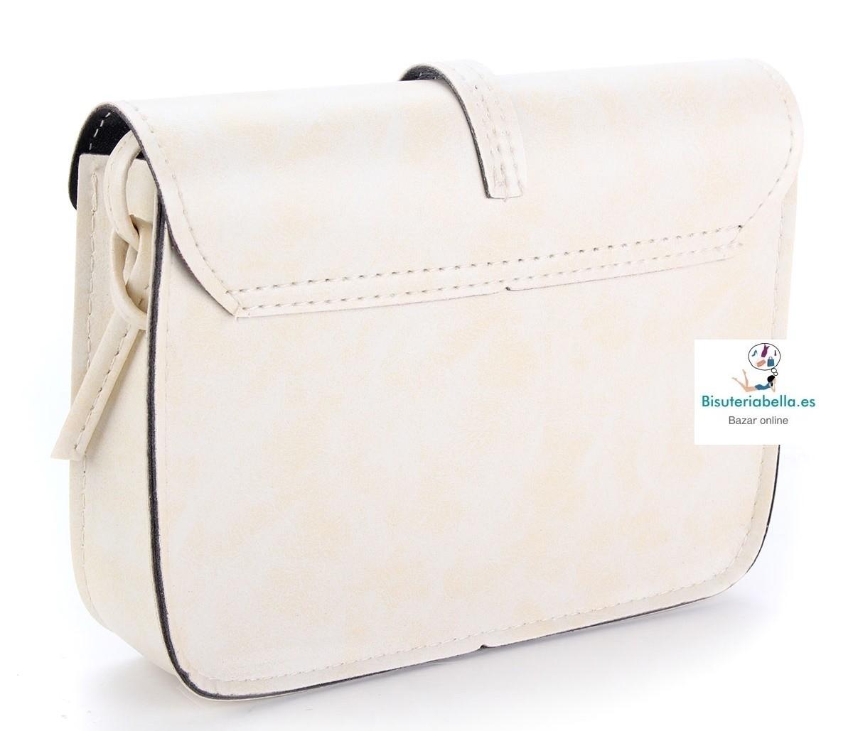 Mini-Bolso Polipiel fino y elegante varios tonos a elegir