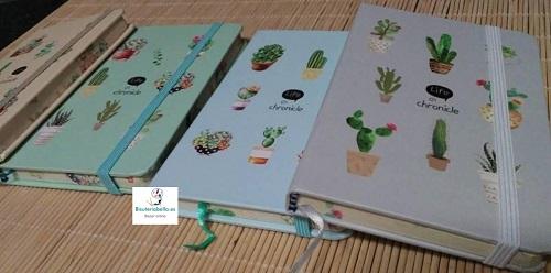 Mini-Libretas Plantas colores a elegir