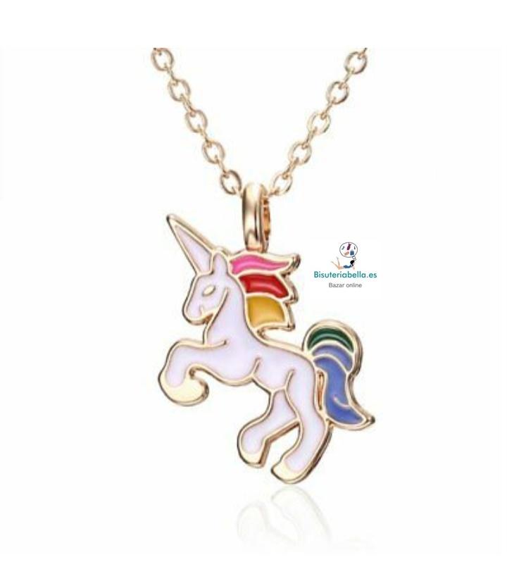 Colgante unicornio a elegir tono