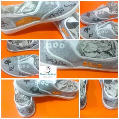 Zapatillas pintadas a mano personalizadas completamente,similar Victoria