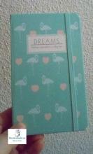 Mini-Libretas flamencos y corazones Dreams