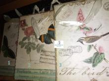 Bolsas Regalo Medianas Vintage Papel a elegir