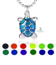 Colgante plateado tortuga a elegir