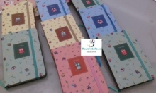 Mini-Libretas Buhitos de la suerte, floral