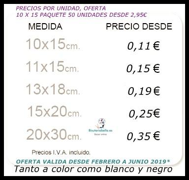 Imprimir Fotos calidad Blanco y Negro