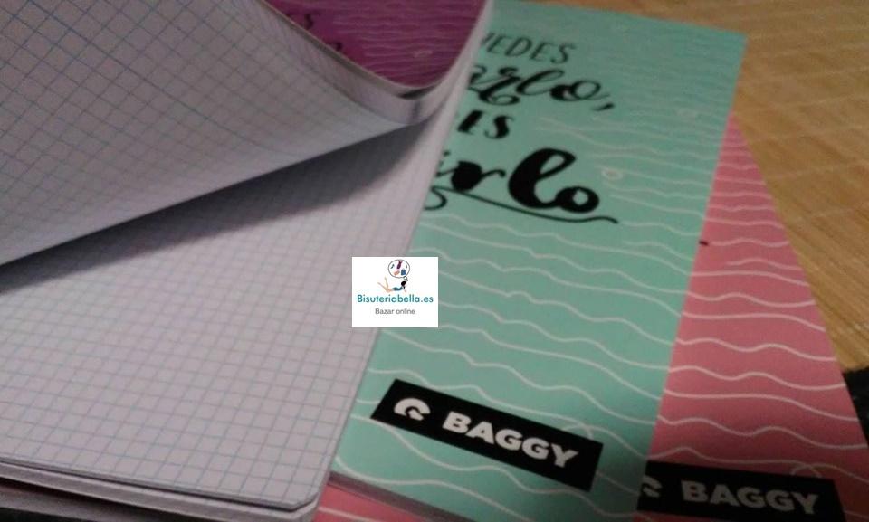 Libretas con frases Tamaño folio colores a elegir