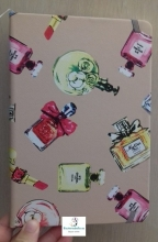 Libreta mediana estampado Perfumes a elegir