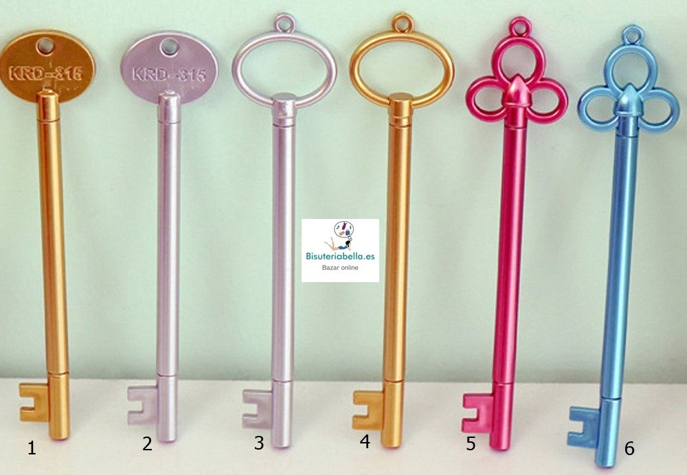 Boligrafo en forma de llave grande a elegir