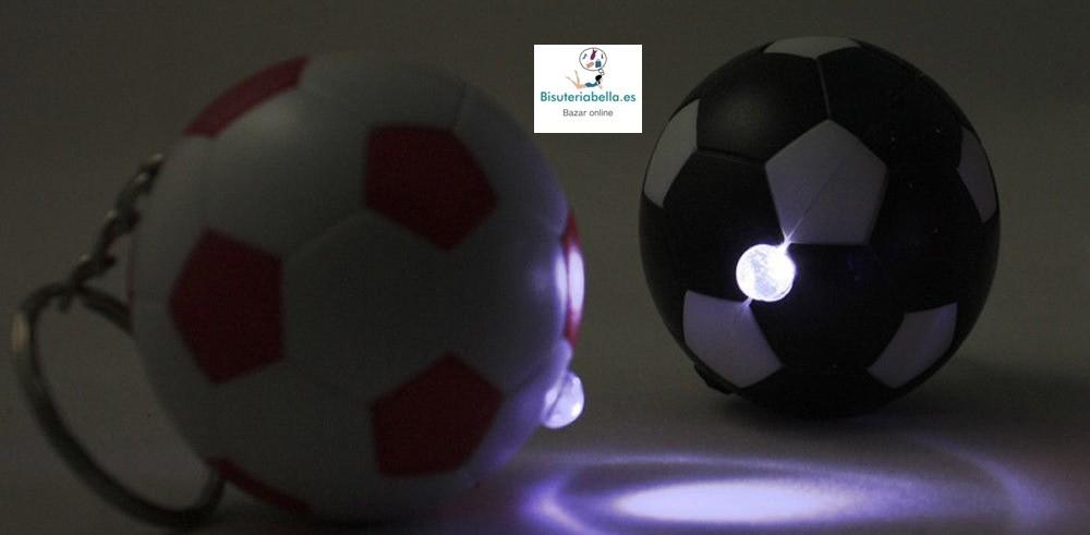 Llaveros Pelota Futbol A elegir con Linterna
